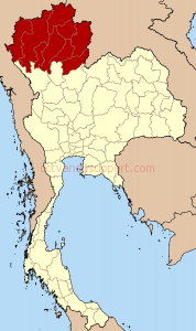 Thailand_North_six_regions