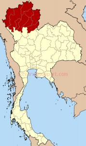 Thailand_North_six_regions